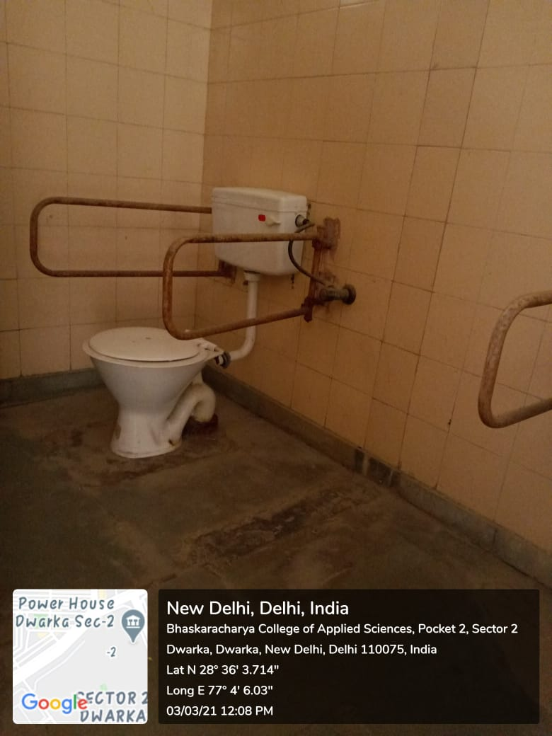 Toilet facility for Differently Abled